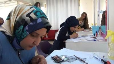 'İş Karşılığı Ücret' projesinde Suriyeli sığınmacılar meslek sahibi oldu