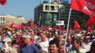 - Rusya'da Binlerce Kişi Emeklilik Reformunu Protesto Etti