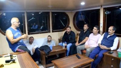 'Vira Bismillah' dediler 820 kasa hamsi tuttular