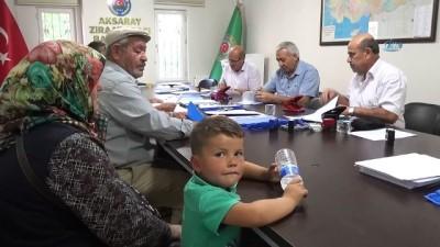 Aksaray'da Ziraat Odası ve Tarım Müdürlüğü ÇKS için birleşti