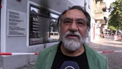Almanya'nın başkenti Berlin'de Türk derneği kundaklandı - BERLİN
