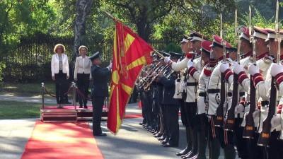 Almanya Savunma Bakanı Leyen Makedonya'da - ÜSKÜP