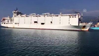 hayvan - Anguslar deniz yoluyla İskenderun Limanı'na geldi - HATAY