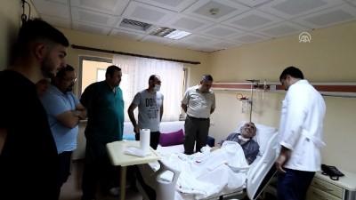 Aort damarı yırtılan KOAH hastasını sağlığına kavuşturdular - RİZE