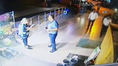 Azeri iş adamı öldüren zanlının kaçma anı kamerada