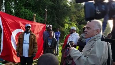 Baba oğuldan Etiyopya'ya büyük destek - TORONTO