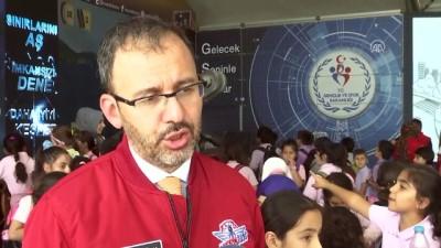 Bakan Kasapoğlu, TEKNOFEST İstanbul'da