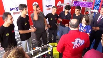 Bakan Varank, TEKNOFEST İstanbul'da öğrencilerle sohbet etti - İSTANBUL