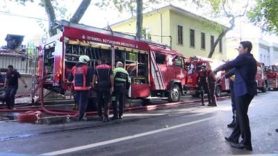 yangina mudahale - Beşiktaş'ta yangın (2) - İSTANBUL