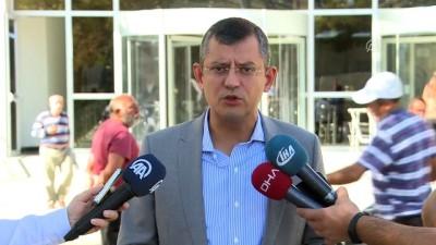 CHP Grup Başkanvekili Özel 'tanık' sıfatıyla Ankara Adliyesinde