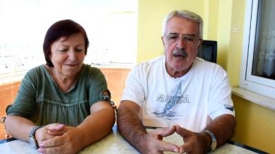 Emekli çiftin en sadık misafirleri 'Papatya' ve 'Kartopu' - SİNOP