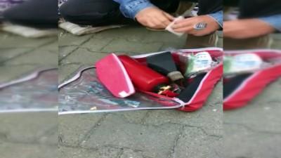 Gaybubet operasyonunda dolarlar arabanın kaputunda bulundu