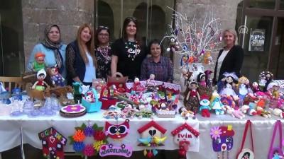 Gün arkadaşı kadınlar bir araya gelip pazar açtı - AMASYA