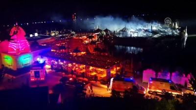 KKTC'de otel yangını - GİRNE