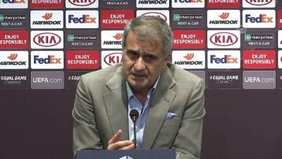 Maçın ardından - Beşiktaş Teknik Direktörü Güneş - İSTANBUL