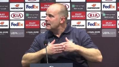 Maçın ardından - Sarpsborg Teknik Direktörü Bakke - İSTANBUL