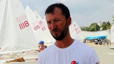 Mavi sularda şampiyon yelkenciler yetiştiren kulüp - TEKİRDAĞ