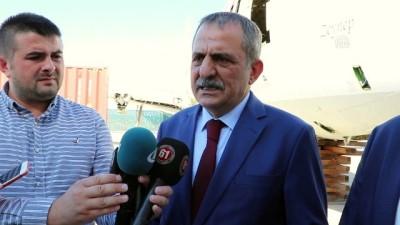 Pistten çıkan uçak Yomra Belediyesine teslim edildi - TRABZON