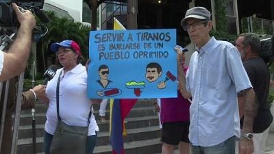 Venezuelalılardan Nusret'e tuzlu protesto: Kasaplar birbiriyle iyi anlaşır