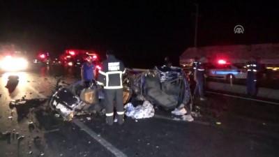 jandarma - Aksaray'da trafik kazası: 2 ölü