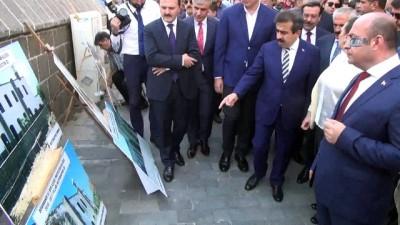 Bakan Ersoy Dört Ayaklı Minare'nin açılışına katıldı