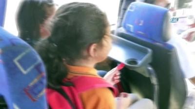 Bolu'da, okul servisleri denetlendi