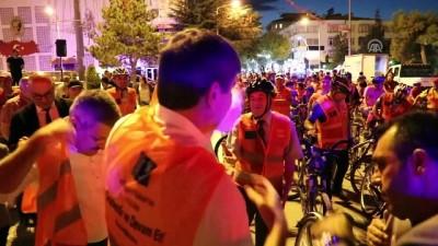 toplanti - Burdur'da belediye başkanları bisiklete bindi