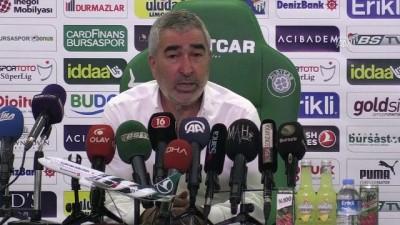 rektor - Bursaspor - Medipol Başakşehir maçının ardından - Samet Aybaba - BURSA
