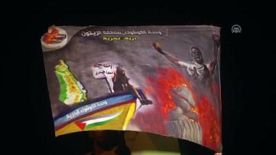 'Büyük Dönüş Yürüyüşü' gösterileri - GAZZE
