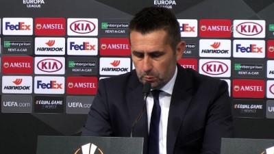 Dinamo Zagreb - Fenerbahçe maçının ardından - Dinamo Zagreb Teknik Direktörü Nenad Bjelica - ZAGREB
