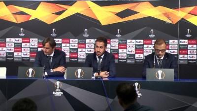 rektor - Dinamo Zagreb - Fenerbahçe maçının ardından - Fenerbahçe Teknik Direktörü Phillip Cocu - ZAGREB