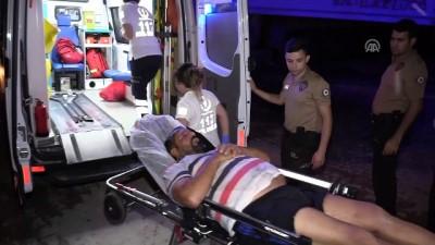 Nehre düşen kişiyi belediye görevlisi kurtardı - ADANA