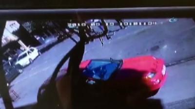 jandarma -  Oto hırsızlarının kaçış anları güvenlik kamerasında