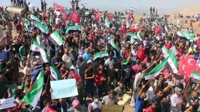Rejim karşıtı gösterilerde Türkiye'ye teşekkür mesajları (2) - HAMA