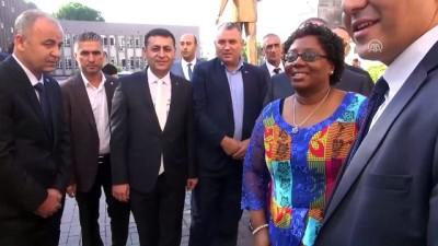 Tanzanya'nın Ankara Büyükelçisi Kiondu'nun ziyaretleri - AYDIN