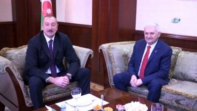 - TBMM Başkanı Yıldırım, Aliyev ile görüştü