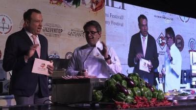 Ünlü şefler GastroAntep Festivali'nde - GAZİANTEP