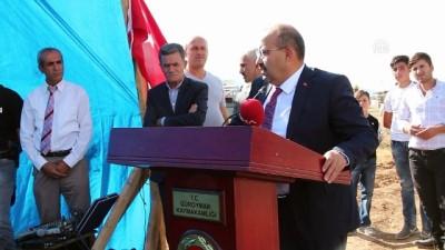 Vali Ustaoğlu, temel atma törenine katıldı - BİTLİS