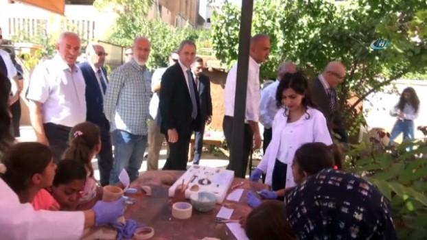 arkeoloji -  Bakan Ersoy, Mardin'de tarihi yerleri gezdi
