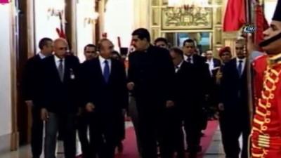 toplanti -  - Çavuşoğlu, Maduro İle Görüştü - Çavuşoğlu: 'İki Ülke Arasında Kardeşlik İlişkileri Var'