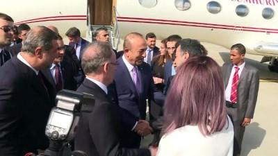 toplanti - Dışişleri Bakanı Çavuşoğlu Venezuela'da