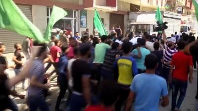 Gazze şehidini uğurladı - GAZZE