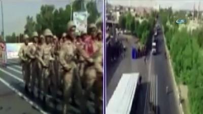- İran'daki Saldırı Anı Kamerada