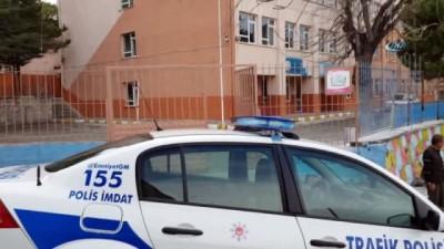okul kantini -  Tosya'da okula silahla ateş eden şahıs tutuklandı