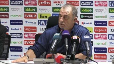 basin toplantisi - Akhisarspor-Galatasaray maçının ardından - Fatih Terim - MANİSA