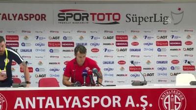 basin toplantisi - Antalyaspor-Demirgrup Sivasspor maçının ardından - ANTALYA