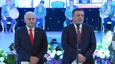 baskent -  - Binali Yıldırım, Özbekistan'da Resepsiyona Katıldı