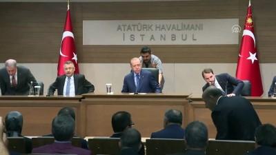 toplanti - Cumhurbaşkanı Erdoğan: 'Suriye'nin geleceği için en büyük sorun, Fırat'ın doğusunda kimi müttefiklerimizin himayesinde büyüyen terör bataklığıdır' - İSTANBUL İzle