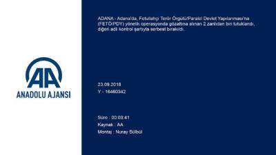 FETÖ/PDY operasyonu - ADANA