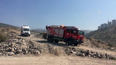 Hafriyat kamyonu devrildi: 1 ölü - İZMİR